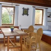 Domek - obytná místnost, sezení