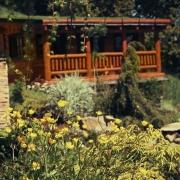 srub Metuje-zahradní chatka