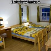 Čtyřlůžková ložnice A